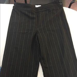Ann Taylor Loft women's pants. Pinstriped Size 6.